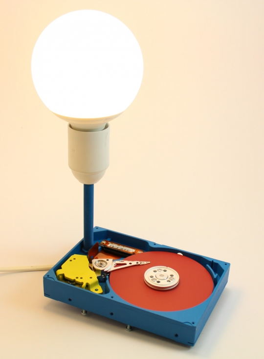 Lampa decorativa Hard-Disk